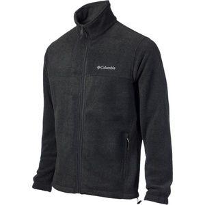 Men's Black Fleece Columbia Zip-Up